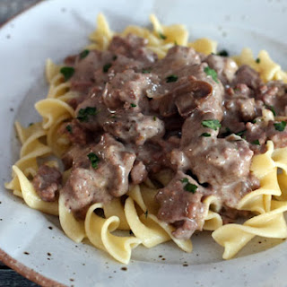 30-Minute Ground Beef Stroganoff.
