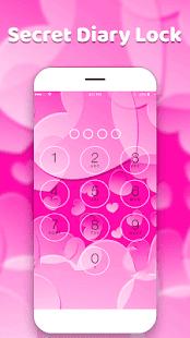diary with lock-Diary-Love Diary-emoji Diary - náhled