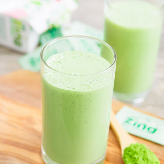 Green Tea Smoothie.