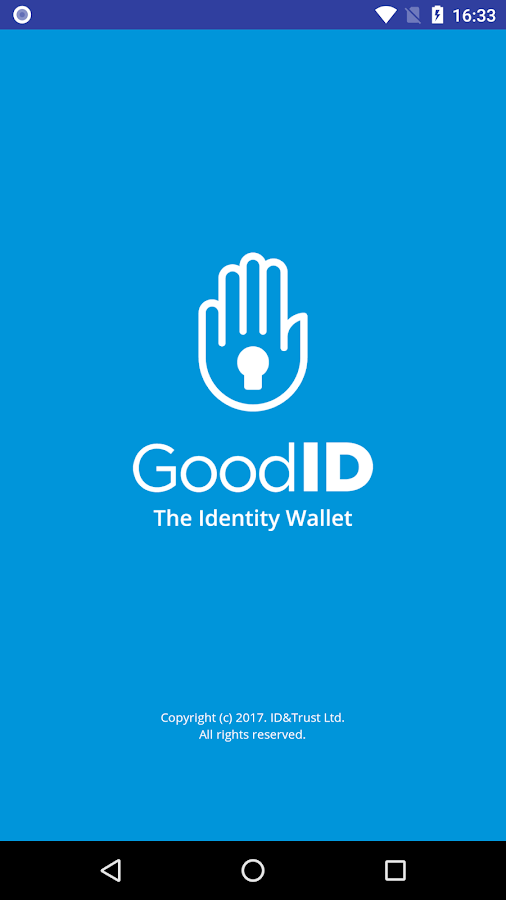 GoodID - strong authentication – képernyőkép