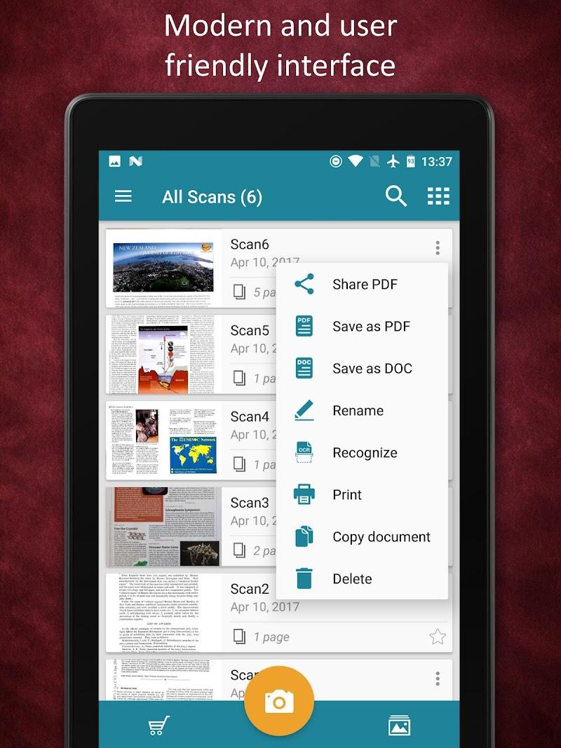 Smart Doc Scanner: Free PDF Scanner App Screenshot 14