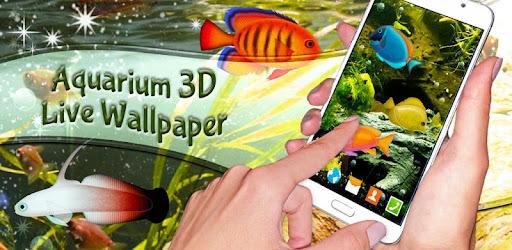 Fish Live Wallpaper Free 🐠 Aquarium 3D Wallpaper - Aplikasi