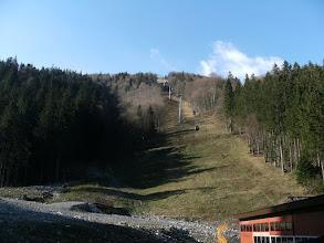 Photo: teraz szlakiem pod kolejką do Chaty pod Chlebem