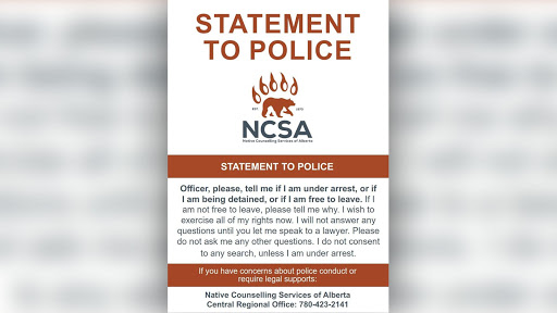 New downloadable 'statement to police' cards issued in Edmonton