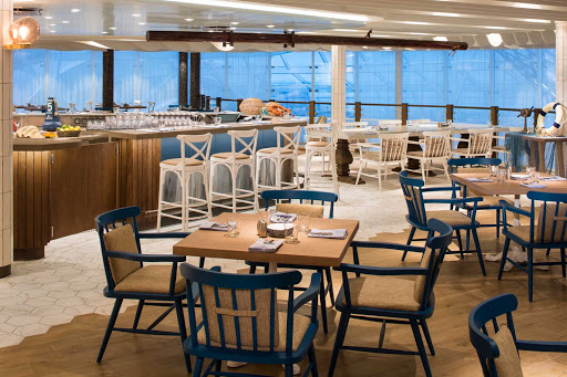 Try Hooked, the new seafood restaurant on Symphony of the Seas.