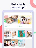 screenshot of Lifecake Family Album & Baby Milestone Photo App
