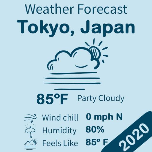 Live Weather Forecast Icon
