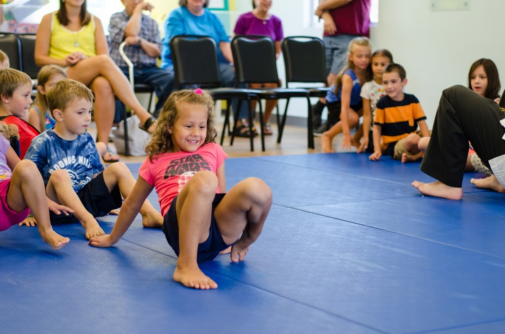 Kids Racing at birthday party Super Kicks Karate Roanoke VA