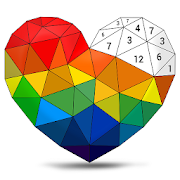 Poly Art - Color by Number, Coloring Puzzle Game