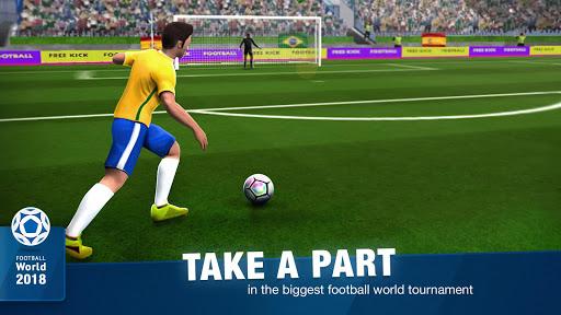 FreeKick Soccer World 2018 1.6.6 gameplay | by HackJr.Pw 1