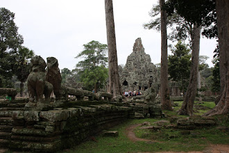 Photo: Year 2 Day 44 - The Bayon, in the Centre of Angkor Thom #2