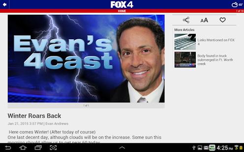 App FOX 4: Dallas-Fort Worth News APK for Windows Phone