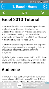 Free Excel 2010 Tutorial - náhled