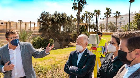 Avanza la nueva cartografía digital de Roquetas de Mar, pionera en España
