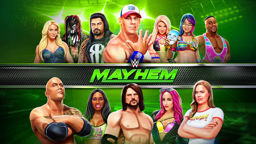 WWE Mayhem  captures d'u00e9cran 1