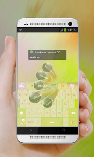 玩個人化App|大自然惊醒 GO Keyboard免費|APP試玩