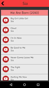 Sia Lyrics screenshot 4