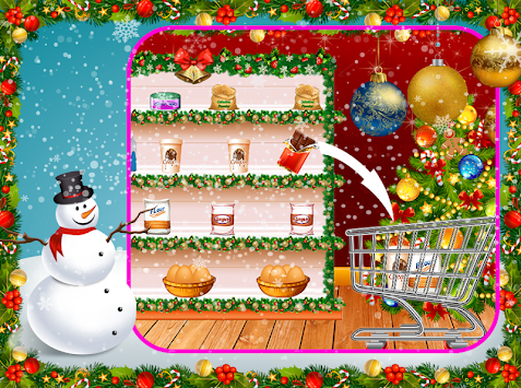 download christmas sweet cake maker santa cake making games apk