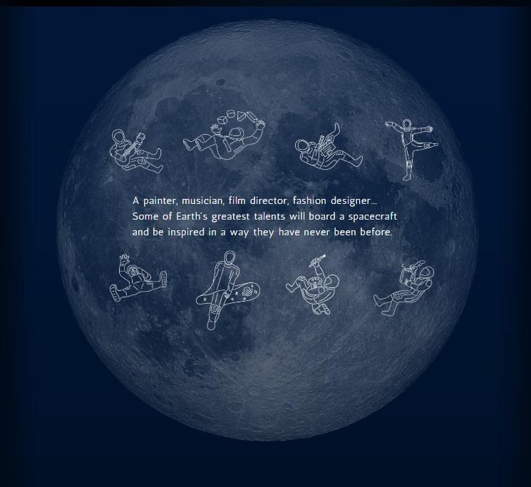 Spacex Tour Moon