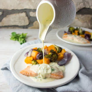 White Cream Salmon Sauce Recipes.