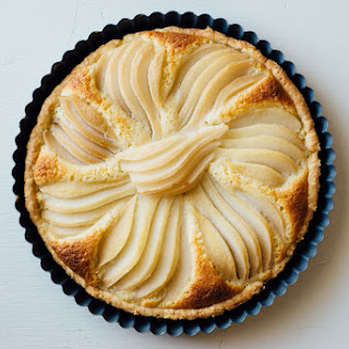 Pear + Almond Tart