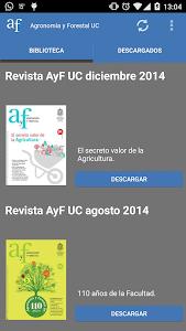Agronomía y Forestal UC screenshot 0