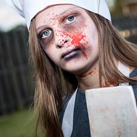 Killer Chef by Tony Richard - Public Holidays Halloween
