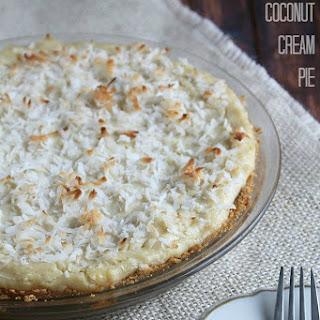 5-Minute Vegan Coconut Cream Pie