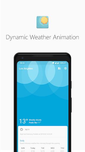Geometric Weather 2.250 screenshots 1