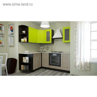Кухонный гарнитур Маргарита прайм 1500*2000