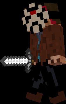 Jason X Nova Skin - Skins para minecraft pe jason
