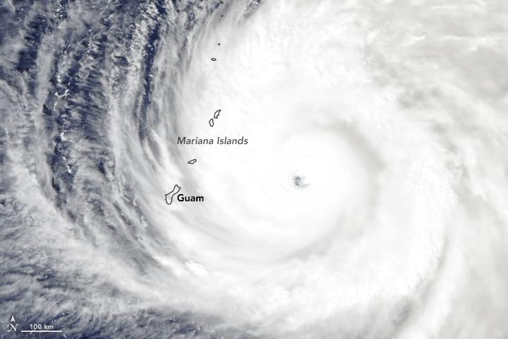 Mariana-Typhoon-Nasa