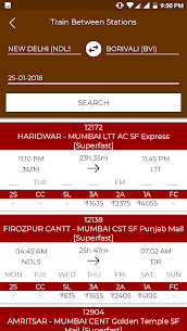 Train Status (IRCTC) App Download For Android 8