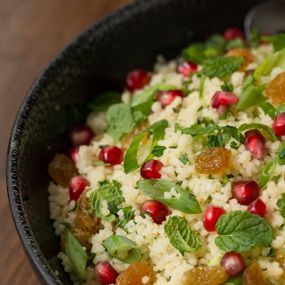 Pomegranate Parsley Couscous Salad