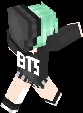 Bts Nova Skin - Skins para minecraft pe kpop