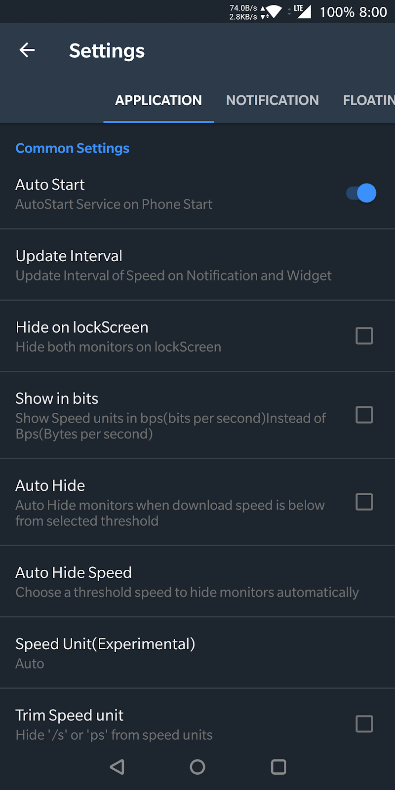 Internet Speed Meter Screenshot 2