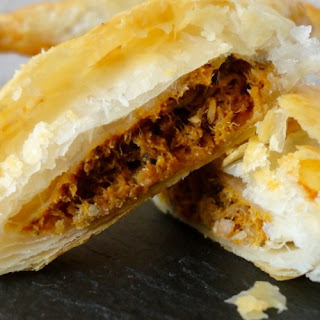 Easy Sardine Curry Puffs