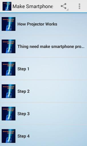 make smartphone projector 1.0 screenshots 2
