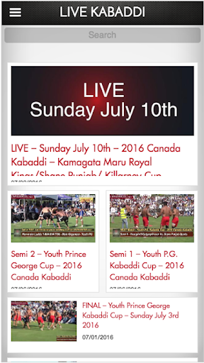 Live Kabaddi - Apps on Google Play