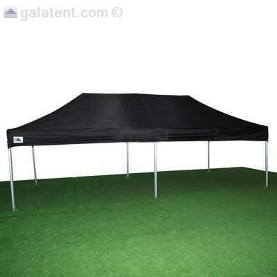 Tent huren uitvouwbaar 3x6 m - zwart