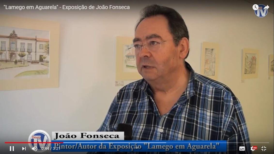 """Vídeo - """"Lamego em Aguarela"""" - Exposição de João Fonseca"""