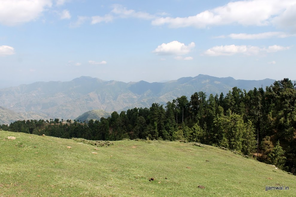 View of Shimla side just off hiking route