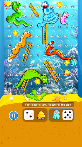 android Snakes And Ladders Screenshot 4