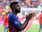 Samuel Umtiti (FB Barcelone) absent 5 à 6 semaines