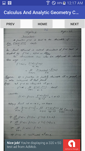 Chapter 2 - Calculus And Analytic Geometry B.Sc 1 1.0 screenshots 2