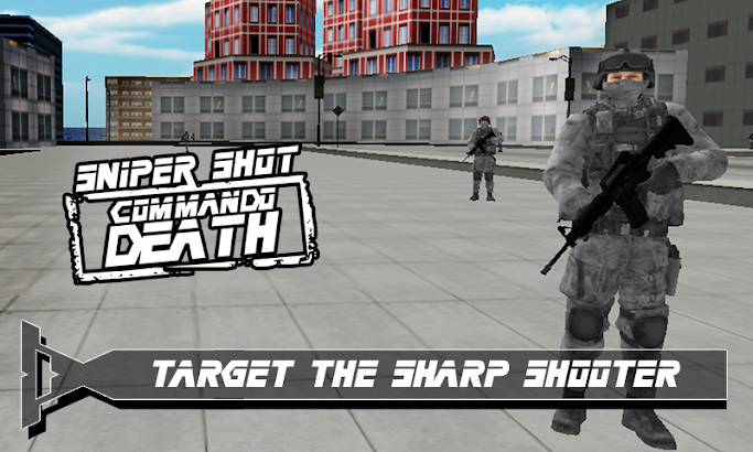 Death Commando Sniper Shot 3D- screenshot thumbnail