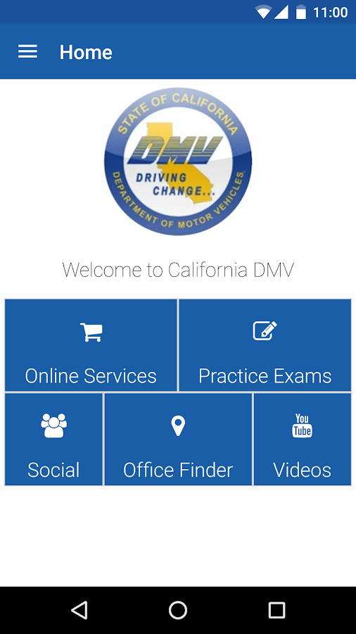 CA DMV- screenshot