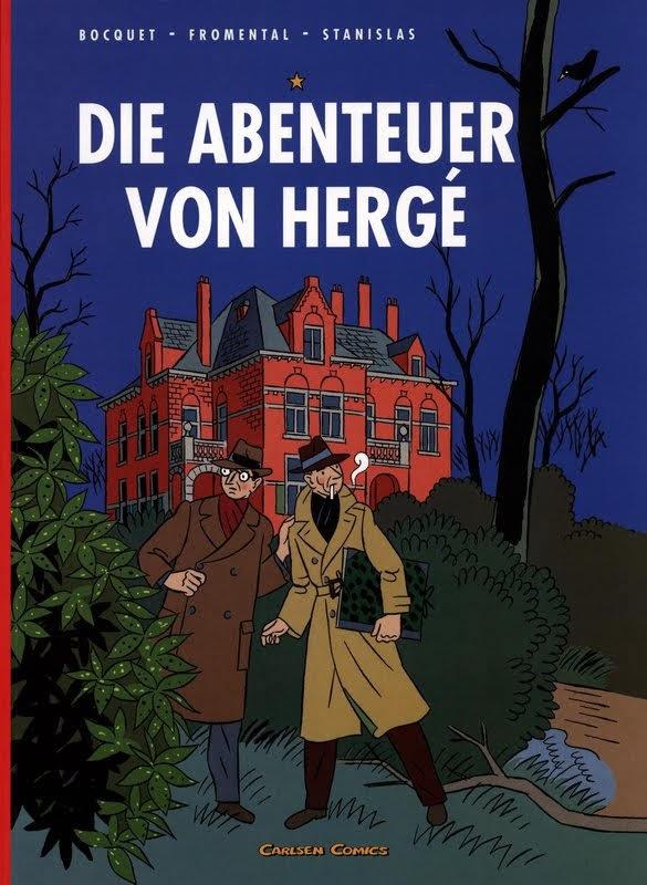 Die Abenteuer von Hergé (2007)