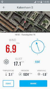 Vaavud Wind Meter screenshot 3