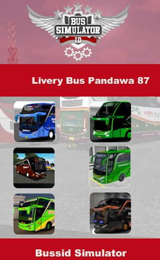 Skin Livery Bussid Pandawa 87 2.0 screenshots 1